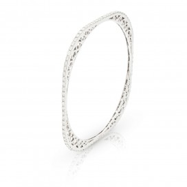 Bracelate 18kt White gold set with brilliants