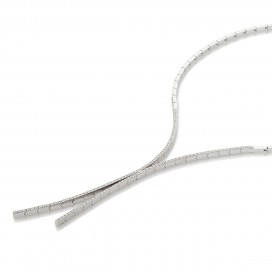 Necklace 18kt White gold set with brilliants
