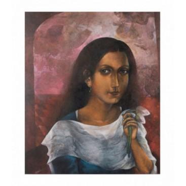 Portrait by Nikhil Ranjan Pal