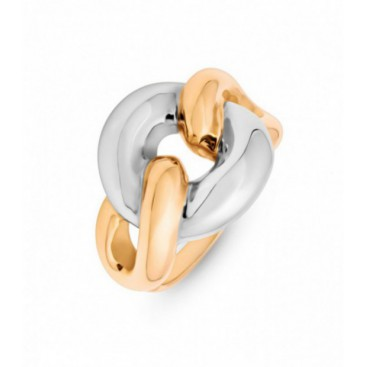 Ring 14kt Yellow and White gold