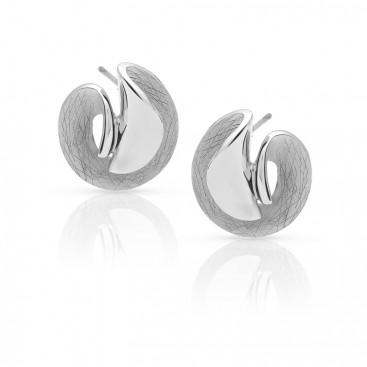 Silver ear tops