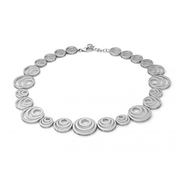 Silver collier