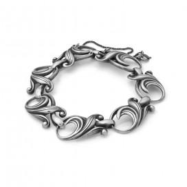 Silver bracelet (Art deco design)